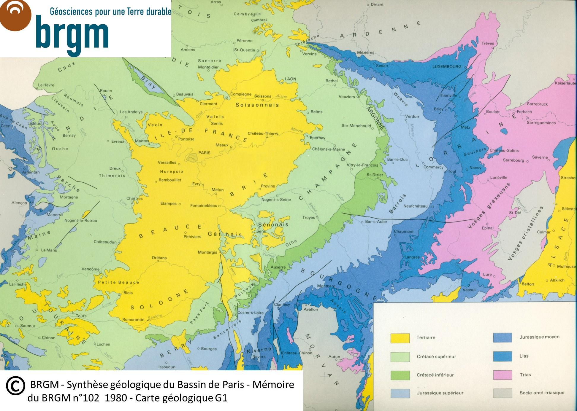 Carte Geologique Lorraine.Le Plateau De Langres Sa Geomorphologie Chemin De L Eau