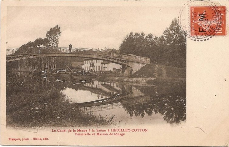 Pont à Heuilley-Cotton